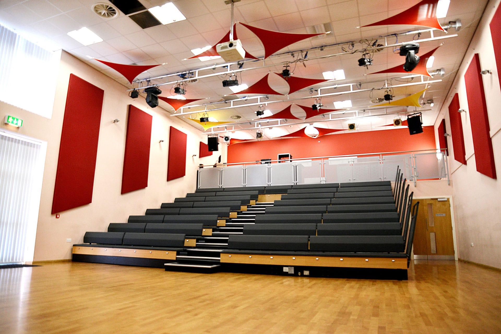 Theatre floorplan